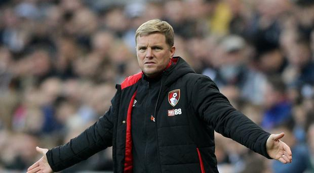 Bournemouth manager Eddie Howe has challenged his side to build on their recent improved form