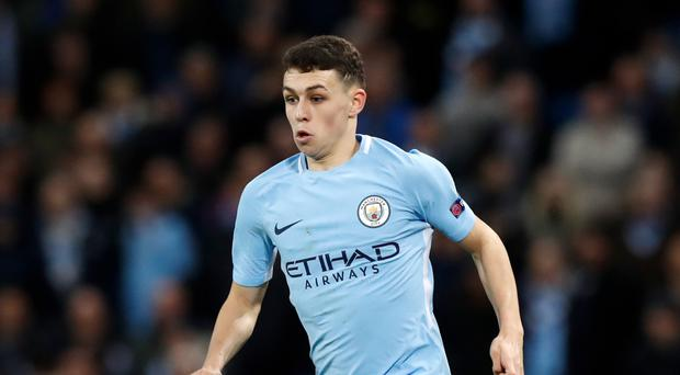 Phil Foden made his Manchester City debut in midweek