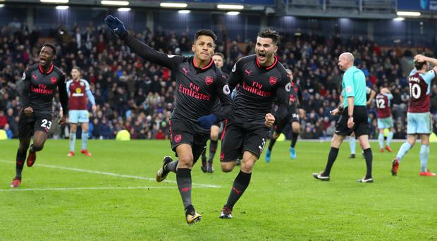 Alexis Sanchez handed Arsenal a dramatic victory