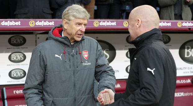 Arsene Wenger saw his Arsenal side earn another late victory against Burnley