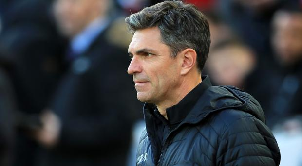Mauricio Pellegrino hopes to be the first manager to beat Manchester City this season