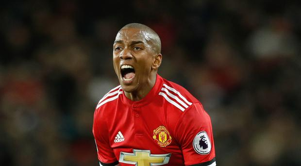 Manchester United's Ashley Young is heading back to Watford intent on taking the points