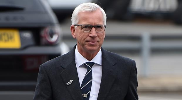 Alan Pardew is the new head coach at West Brom