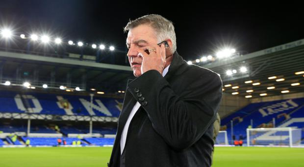 Sam Allardyce has taken over at Everton
