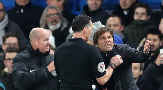 Antonio Conte has accepted an FA charge over his row with referee Neil Swarbrick