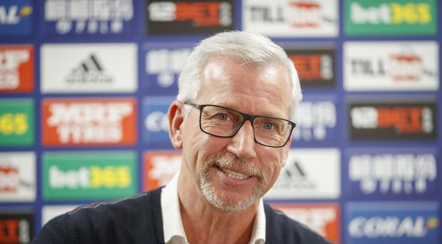 Alan Pardew will take charge of West Brom for the first time against Crystal Palace on Saturday