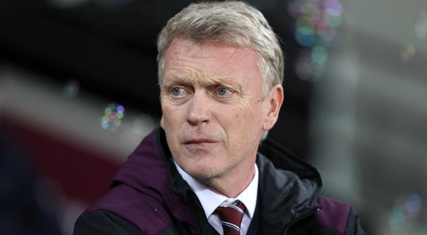 David Moyes is searching for a first win at West Ham