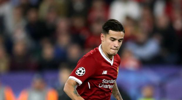 Philippe Coutinho ran riot at Brighton