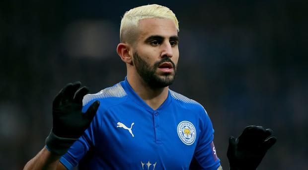 Leicester star Riyah Mahrez was impossible to ignore