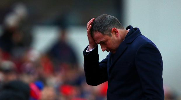 Clement admits Swansea confidence rock bottom after Stoke defeat