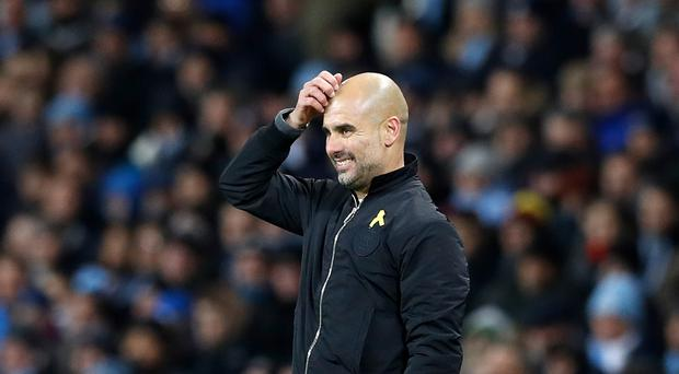 Pep Guardiola: 'I cannot control myself, hopefully I can improve'