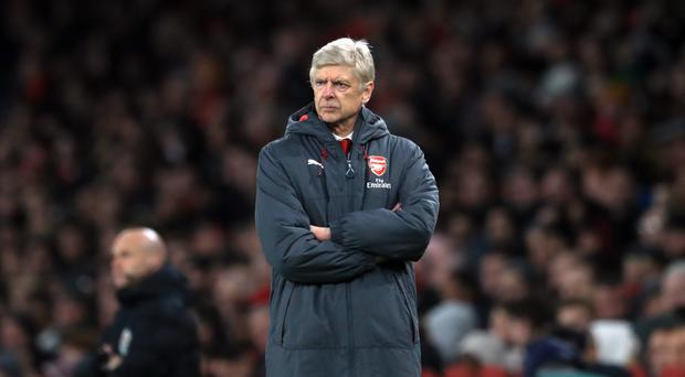 Arsene Wenger will not rule Arsenal out of the Premier League title race despite being well adrift of leaders Manchester City