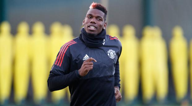 Paul Pogba is set for a spell on the sidelines