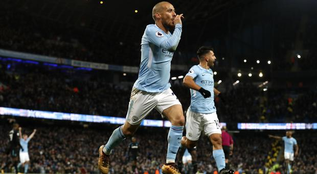 Manchester City have not dropped points in the league since August