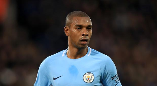 Manchester City's Fernandinho is preparing for a tough derby with Manchester United