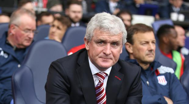 Mark Hughes has seen his Stoke side lose their last three games to Tottenham 4-0