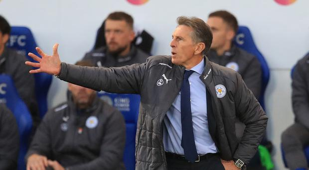 Claude Puel will face Rafael Benitez's Newcastle this weekend