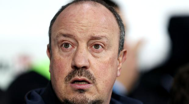 Newcastle manager Rafael Benitez (pictured) is hoping for a January windfall
