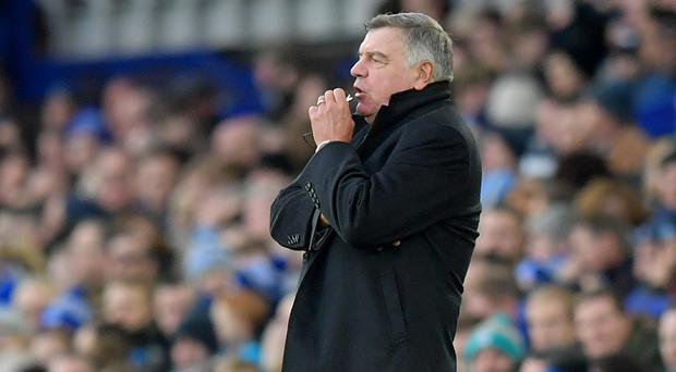 Everton manager Sam Allardyce is looking to end the club's 18-year winless run at Anfield.