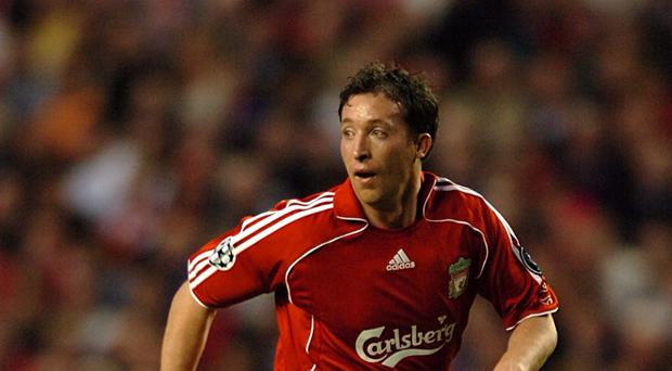 Liverpool striker Robbie Fowler was the scourge of Everton at Anfield.