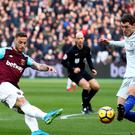 Marko Arnautovic was West Ham's match-winner