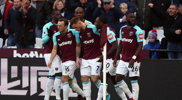 Marko Arnautovic's goal gave David Moyes his first win as West Ham boss