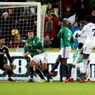 Wilfried Bony scores the winner