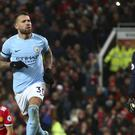 Nicolas Otamendi's second-half winner gave Manchester City a 14th straight Premier League victory