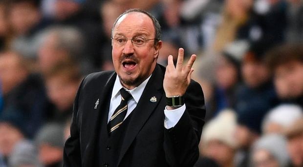Tight lipped: Rafa Benitez stayed silent on possible sale of club
