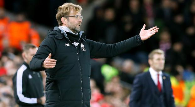 Liverpool manager Jurgen Klopp was furious about the penalty awarded against his side