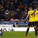 Watford have appealed against Marvin Zeegelaar's red card at Burnley