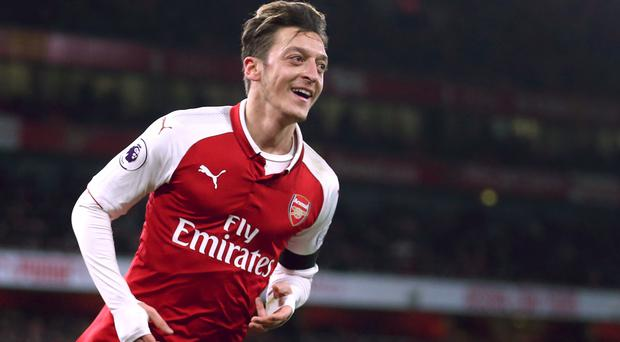 Arsenal are said to be making a last push to keep Mesut Ozil at the club