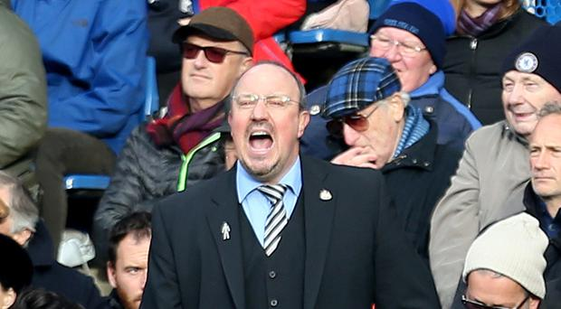 Newcastle manager Rafael Benitez (pictured) is hoping for clarity over his January budget
