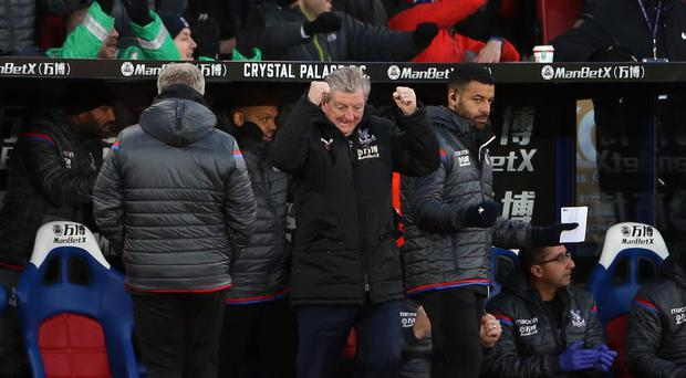 Crystal Palace out of drop zone in late drama