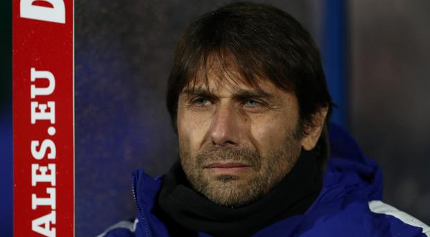 Antonio Conte insisted Chelsea could not win the title at the weekend