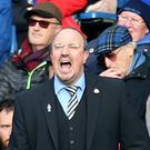 Rafael Benitez saw Newcastle slip to a seventh Premier League defeat in eight attempts
