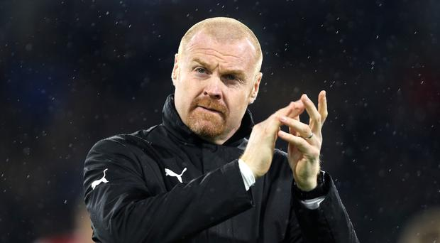 Sean Dyche's Burnley are level on points with fourth-placed Tottenham