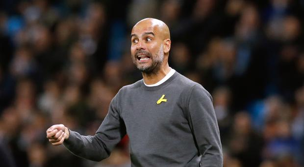 Pep Guardiola continues to demand improvement from his Manchester City side