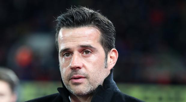 Watford boss Marco Silva had been linked with the Everton vacancy