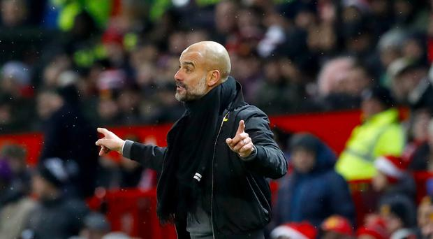 Manchester City manager Pep Guardiola insists his team do not make tactical fouls