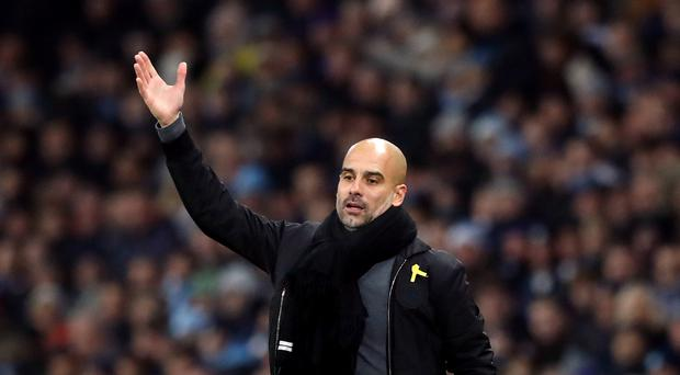 Manchester City manager Pep Guardiola was impressed by what he saw against Tottenham