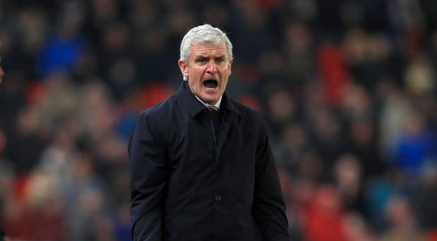 Mark Hughes' Stoke have taken just five points since October