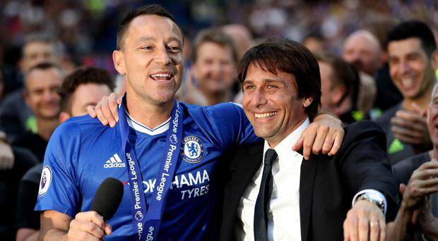 John Terry believes Antonio Conte will be at Chelsea for the long term