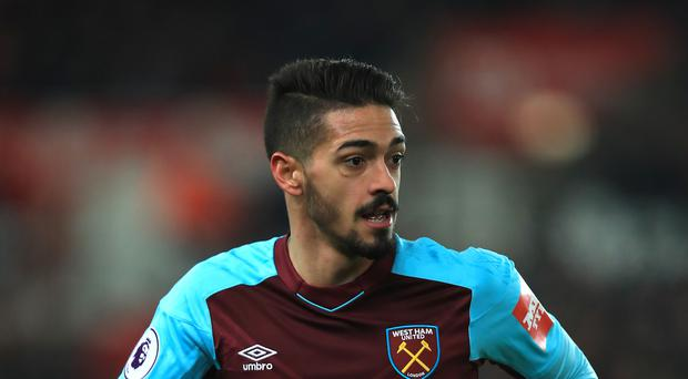 Manuel Lanzini has been banned for two games