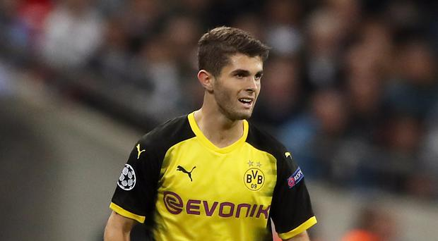 Borussia Dortmund's Christian Pulisic is attracting plenty of interest