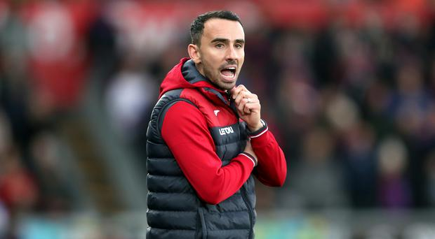 Swansea caretaker boss Leon Britton felt his side deserved reward from their 1-1 draw against Crystal Palace.