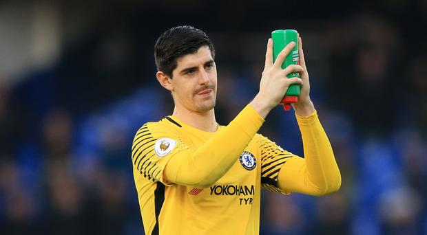 Thibaut Courtois thinks Chelsea will face stubborn opponents in their final two fixtures of 2017