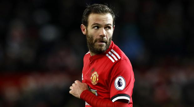 Juan Mata's brace was not enough to secure Manchester United victory on Saturday