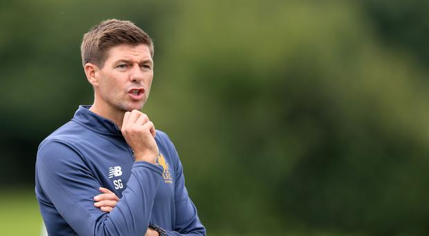 The Premier League's managerial 'madness' has not dulled the ambition of Liverpool Under-18s coach Steven Gerrard