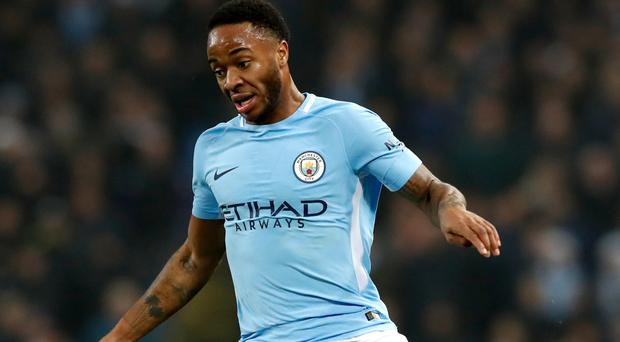 Manchester City's Raheem Sterling is taking one match at a time